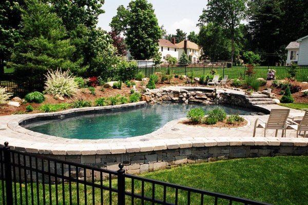 Gunite Swimming Pool Design