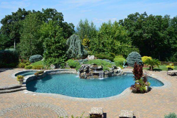 Gunite Swimming Pool Outdoor Living