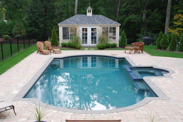 Gunite Inground Swimming Pool Builder CT