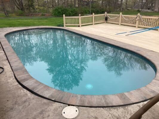Inground Gunite Pool Renovation After